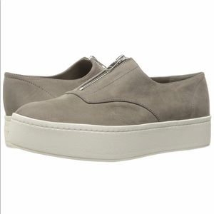 Vince Warner Slip On Platform Fashion Sneaker